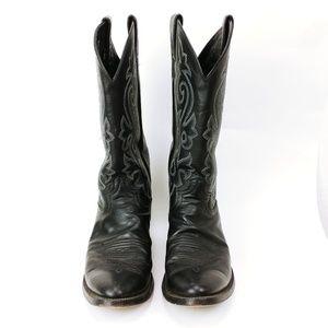 Black Justin Boots